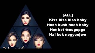 Miss A - Hush [Easy Lyrics ] [Letras Simples] MP3