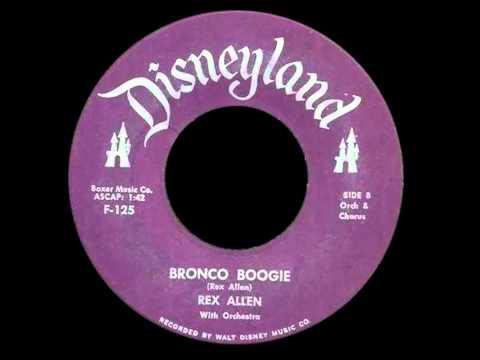 Bronco Boogie - Rex Allen with Orchestra