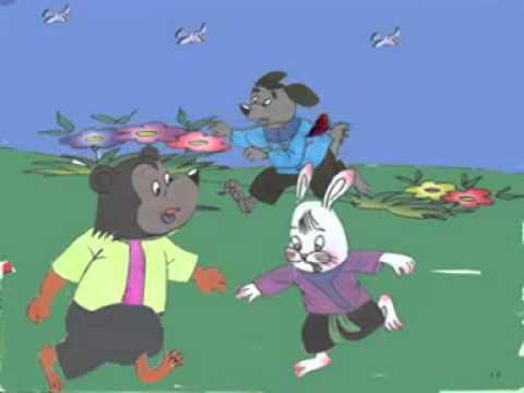Chuyện cổ tích: Cáo, Thỏ và Gà trống - SocNauKids.com