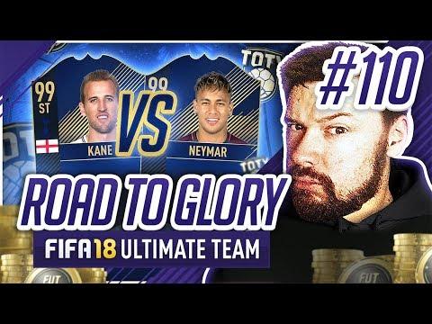 TOTY KANE V TOTY NEYMAR! - #FIFA18 Road to Glory! #110 Ultimate Team
