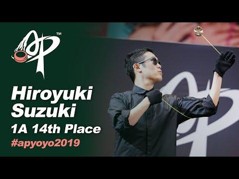 Hiroyuki Suzuki (JP) : 1A Division Finals - Asia Pacific Yo-Yo Championships 2019