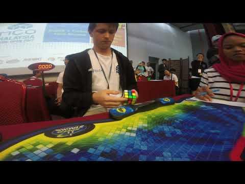 Rubik's Cube World Record Average: 5.80 Seconds