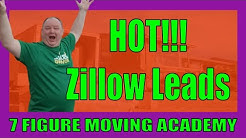 How To Find Hot Moving Leads From Zillow | Effective Moving Company Marketing Series