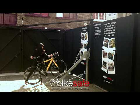 Two Tier Bike Rack- bikesafe.eu