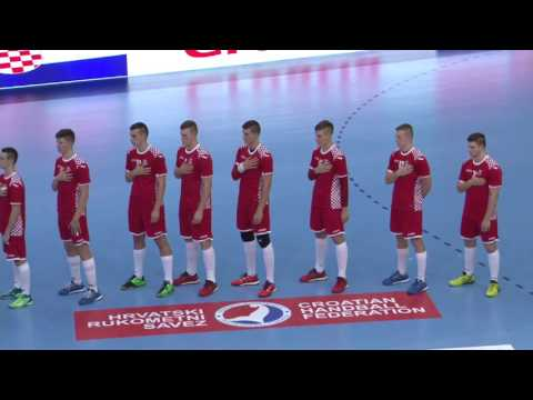 Serbia vs Croatia (Group M2) - EHF M18 EURO 2016