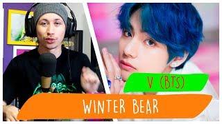 REAGINDO À Winter Bear by V (BTS)