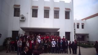 قناة السويس الجديدة : شقيقة السيسي فى زيارة مدرسة مصر 2000الحديثة للقناة