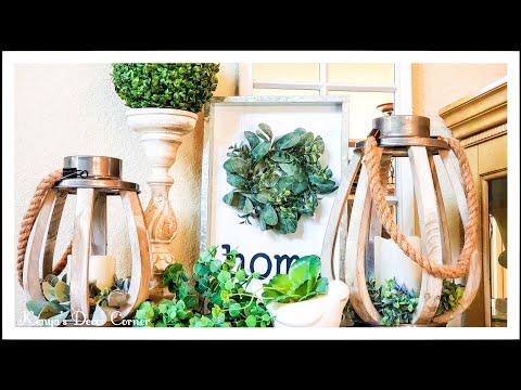 Spring Lantern Collab 2020   Neutral Farmhouse Spring Decor Ideas   Kenya's Decor Corner