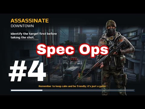 Modern Combat 5: Blackout chapter 3 Spec Ops - 4 Assassinate