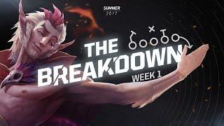 The Breakdown with Zirene: The Power of Rakan (NA LCS Summer Week 1)