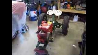 1960 's Pow'r Pup Power Popular Mechanics Magazine Garden Tractor Build Part 4