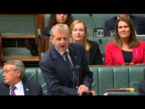 Arts Minister Simon Crean Question Time Creative Australia