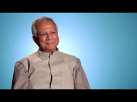 Muhammad Yunus, Nobel Peace Prize Laureate and Grameen Bank founder: Talks at GS
