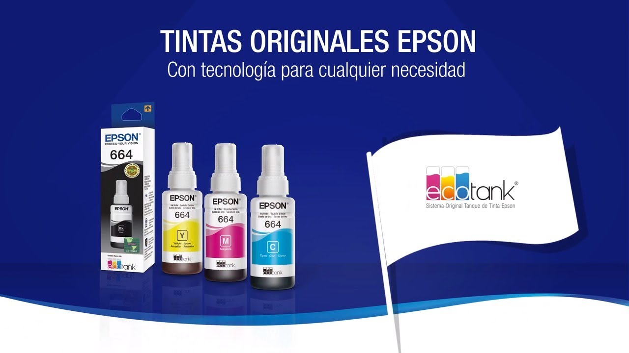 Libérate de los Engaños | Usa Tinta Original Epson EcoTank - YouTube