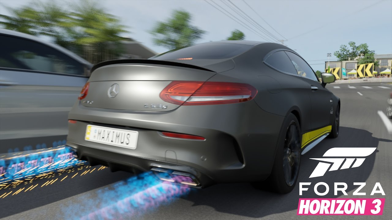 forza horizon 3 19 mercedes amg c63 i let 39 s play forza. Black Bedroom Furniture Sets. Home Design Ideas