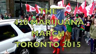 420 Marijuna March - Toronto 2015