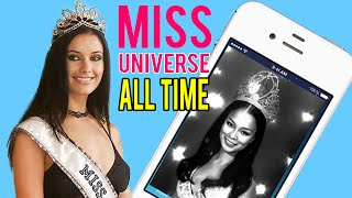 10 MOST BEAUTIFUL Miss Universe of ALL TIME