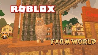 ROBLOX FARM WORLD NORWEGIAN FOREST CAT vs NAPOLEON vs Tabby + LYNX! FLUFFY + Where to FIND the SHOP