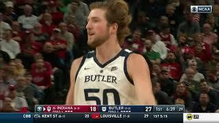 HIGHLIGHTS: @ButlerMBB 68, Indiana 71 - Dec. 15, 2018