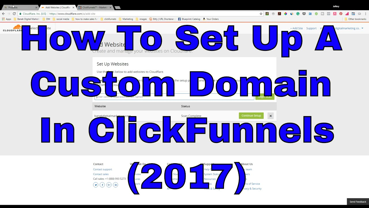 how to add a domain to a clickfunnel funnel