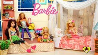 La Familia Barbie Se Va De Vacaciones En El Hotel De Juguete