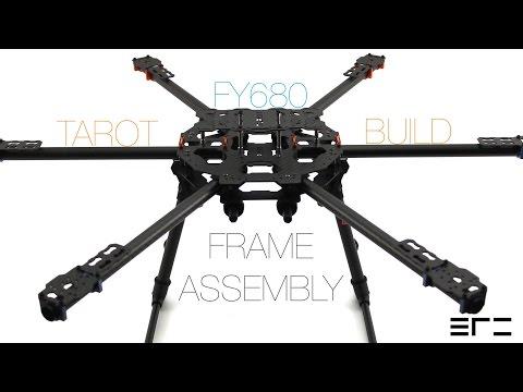 Tarot FY680 Build - Frame Assembly - ERC