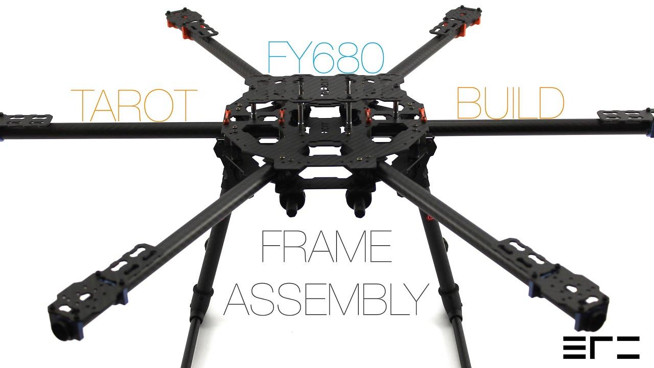 Tarot FY680 Build - Frame Assembly - eRC - YouTube