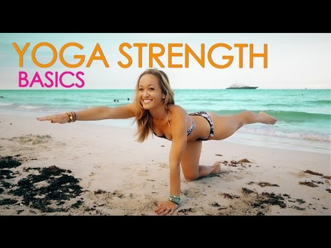 Beach Yoga Strength Basics, Planks and More with Kino