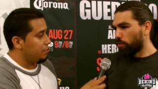 ALFREDO ANGULO DISCUSSES WHAT HE STILL HAS LEFT IN THE TANK AND TALKS FREDDY HERNANDEZ