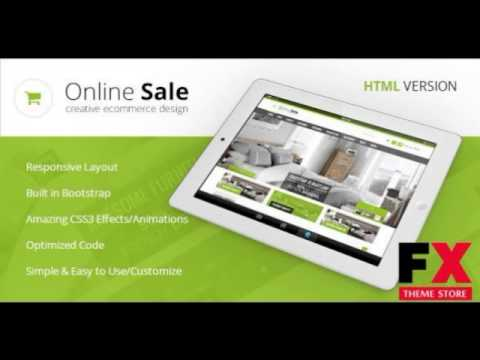Preview Online Sale – Responsive HTML5 eCommerce Template