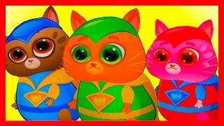 КОТЕНОК БУБУ #17.МОЙ ГОВОРЯЩИЙ КОТИК БУБУ - игровой мультик видео для детей.МОЙ ВИРТУАЛЬНЫЙ ПИТОМЕЦ.