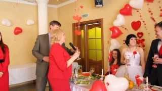 Свадьба Екатерины и Николая, поздравления родителей.