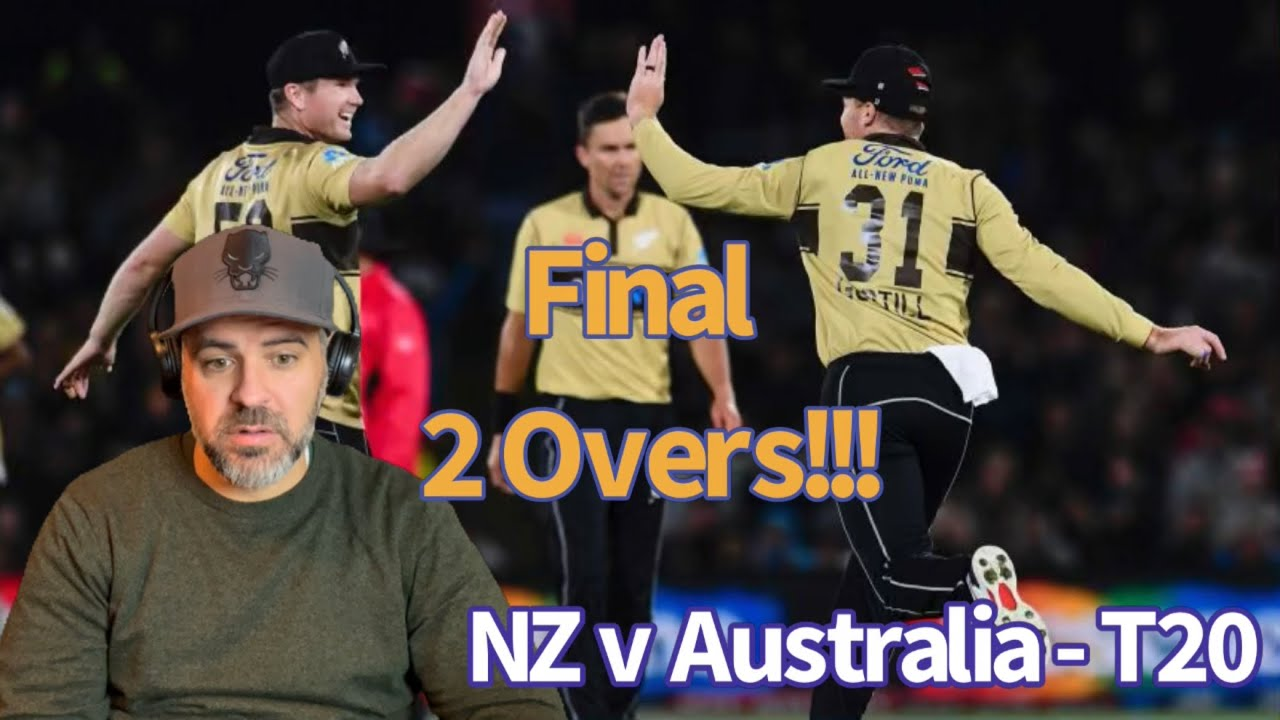 Aus v NZ Final Two Overs Stream
