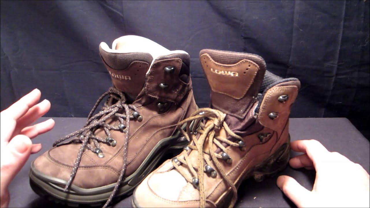 Lowa Renegade Ii Gtx Hiking Boots Review Youtube