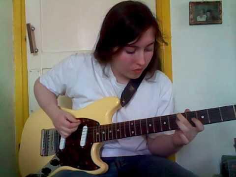 NIRVANA-School guitar cover (w/ solo)
