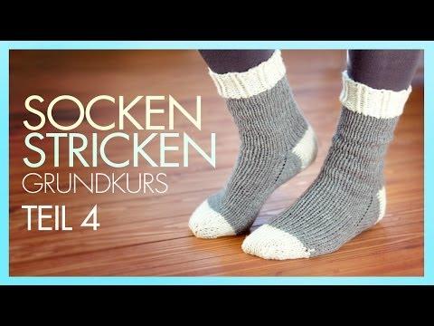 *Socken Stricken* Socke beenden *TEIL 4 GRUNDKURS*