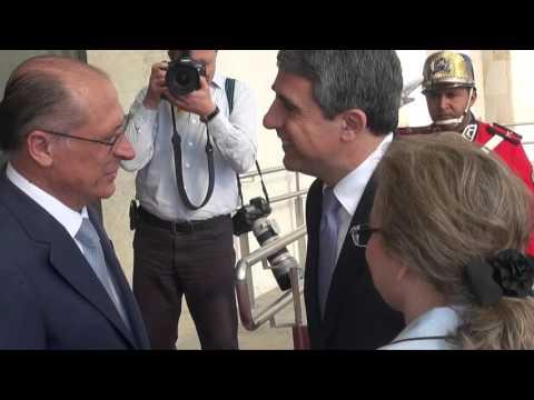 Alckmin recebe Rosen Plevneliev, presidente da Bulgária