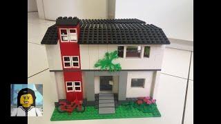 LEGO - Como Construir  uma Casa Dobrável de Lego 2