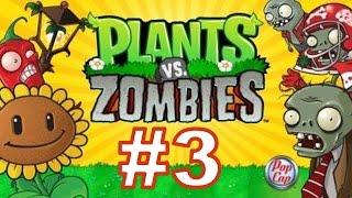 PLANTS VS ZOMBIES - 2 Глава - Ночь - Прохождение с Вебкой (Летсплей) 1 часть