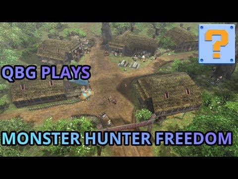 QBG Plays.... Monster Hunter Freedom!