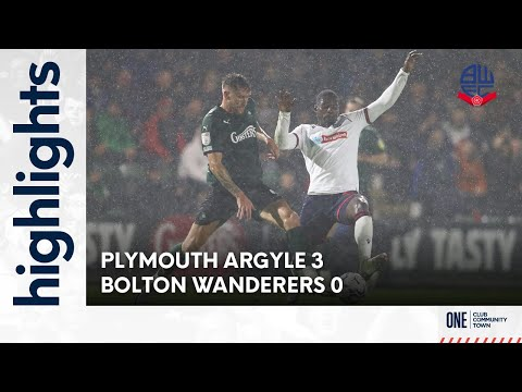 Plymouth Bolton Goals And Highlights
