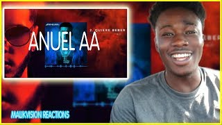 ANUEL AA IS TRUE COMPETITION FOR BAD BUNNY!  Anuel AA - Quiere Beber REACTION