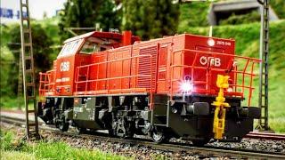 Modelleisenbahn H0 - Jägerndorfer RH 2070 ÖBB Soundcheck mit ESU Soundprojekt