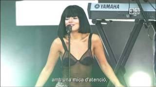 LILY ALLEN - FUCK YOU - LIVE 2010  (Subtitulada)