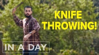 Becoming a Knife Throwing Master In A Day