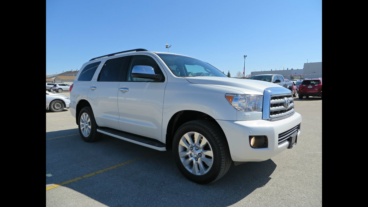 2014 Toyota Sequoia Platinum Review Start Up And