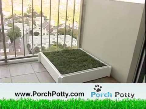 Porch Potty   The Best Grass Potty Box For Dogs On The Market   YouTube