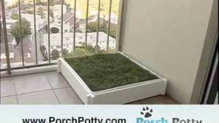Porch Potty - the best grass potty box for dogs on the market