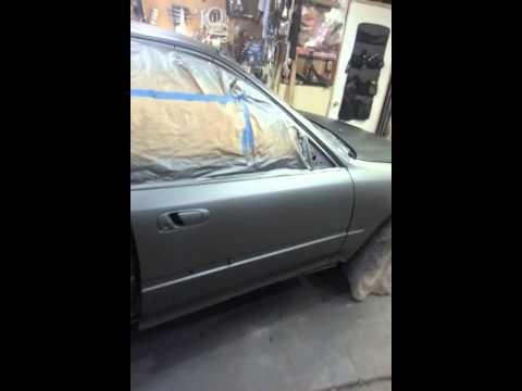 Honda civic gun metal gray