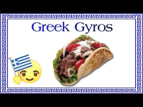 Greek Gyros at Greco Fresh Grille Greek Restaurant